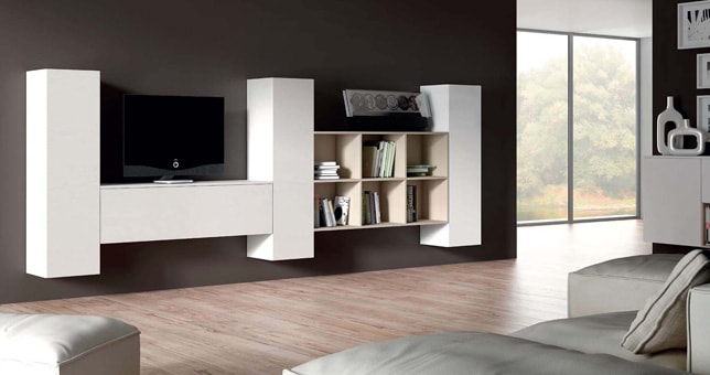 Estilos y tendencias moderno muebles saskia - Mobiliario minimalista ...