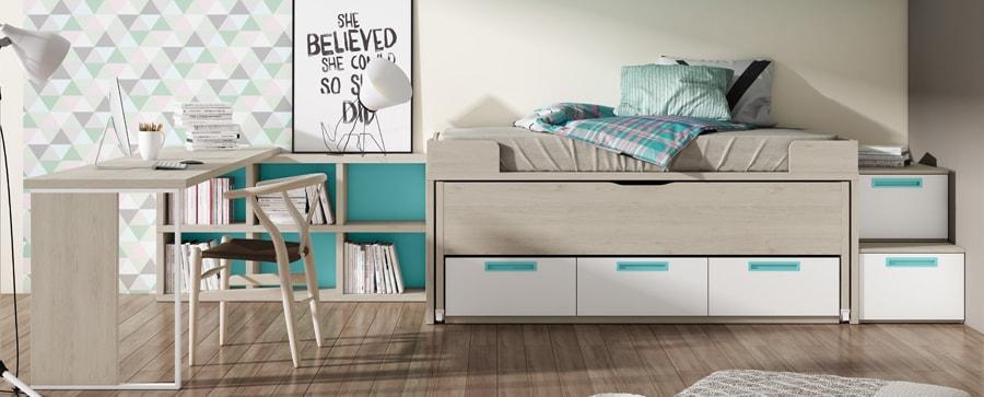 Muebles de dormitorio Juvenil en Muebles Saskia