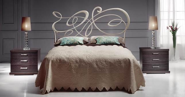Ambientes forja pe a vargas muebles saskia en pamplona - Cabeceros de forja en sevilla ...