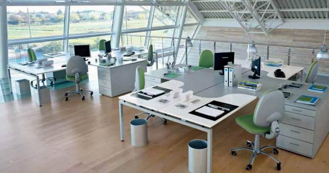 Ambientes de Contract Oficina