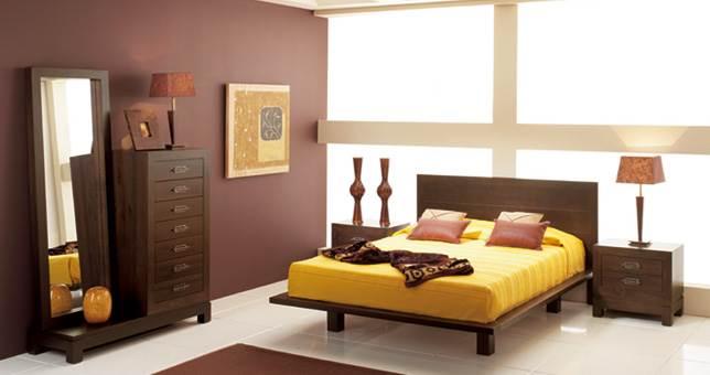 Dormitorio Colonial y étnico
