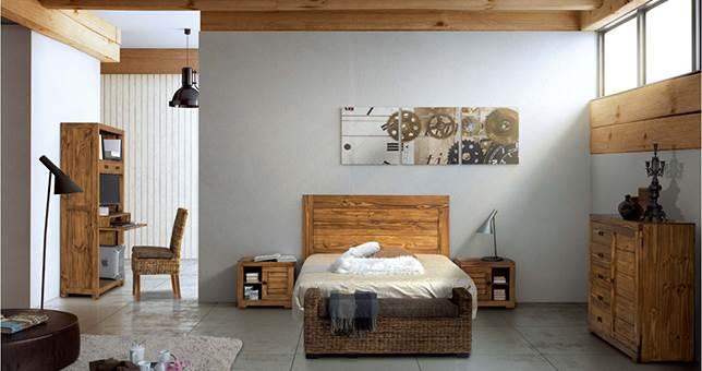 Cabeceros dormitorio r stico muebles saskia en pamplona - Cuadros para dormitorios rusticos ...