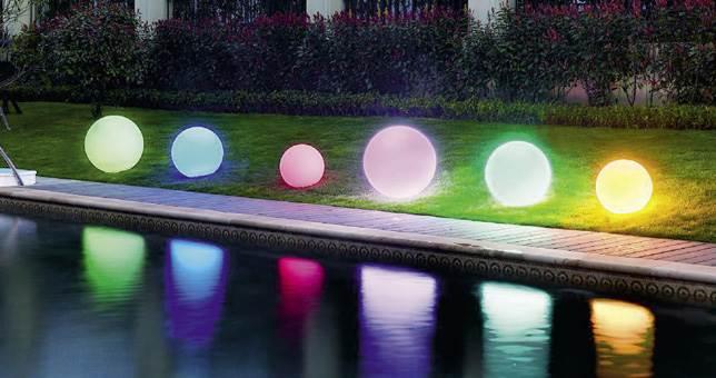 Ambientes de Jardín Iluminación