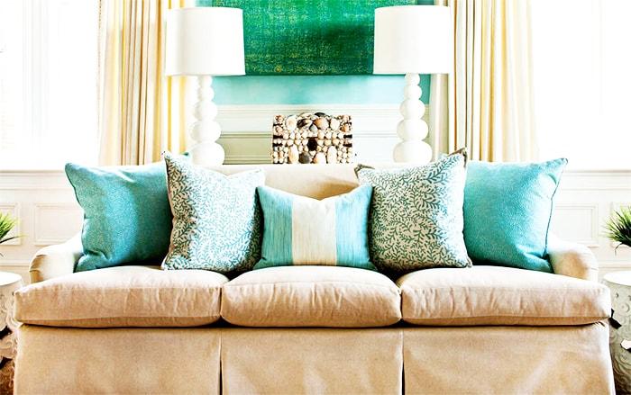 Ideas decorar sofa con cojines casa dise o - Cojines para el sofa ...