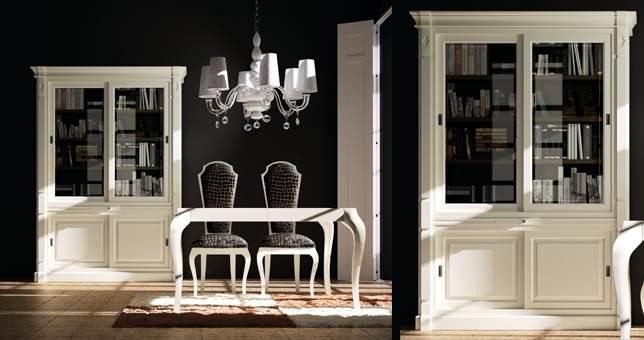Vitrina comedor muebles saskia en pamplona - Vitrinas para salones ...