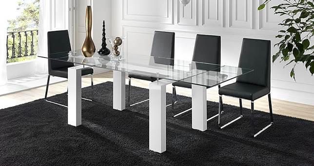 mesas de comedor jard n muebles saskia en pamplona