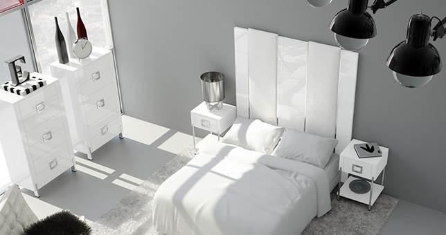 Cabeceros dormitorio muebles saskia en pamplona - Cabeceros de 105 ...