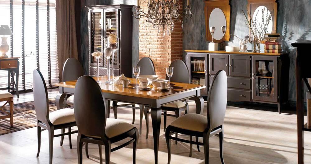 Comedor contempor neo mediterr neo 50 muebles saskia en Muebles estilo contemporaneo moderno