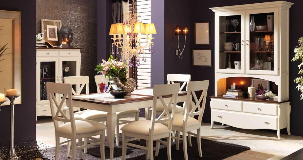 Comedor contempor neo mediterr neo 57 muebles saskia en - Decoracion salon colonial ...