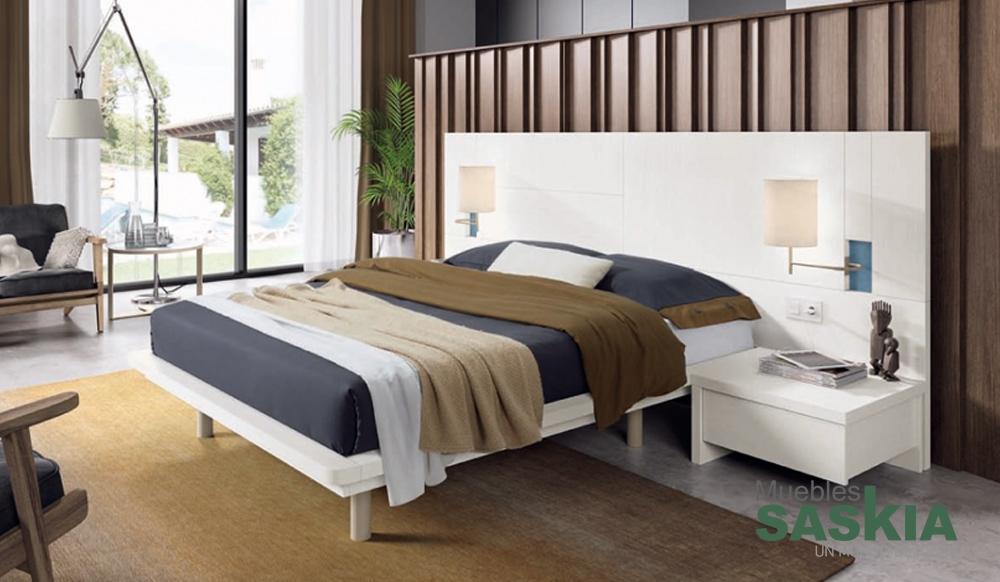 Ambientes de dormitorio moderno muebles saskia en pamplona - Ambientes de dormitorios ...