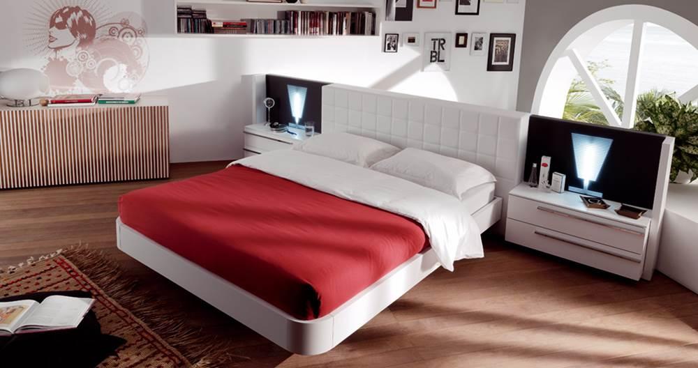 Dormitorio moderno ded 30 140 muebles saskia en pamplona - Dormitorios juveniles pamplona ...