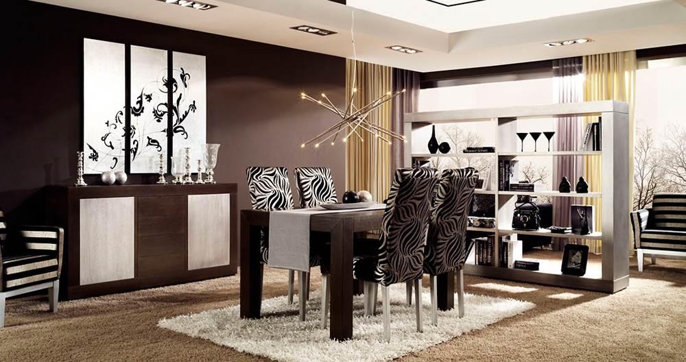 Comedor duomo 334 muebles saskia en pamplona for Duomo muebles