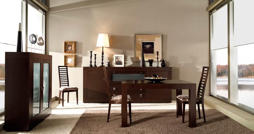 Comedor duomo 337 muebles saskia en pamplona Muebles estilo contemporaneo moderno