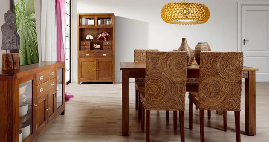 Comedor colonial flash 67 muebles saskia en pamplona - Salon colonial moderno ...