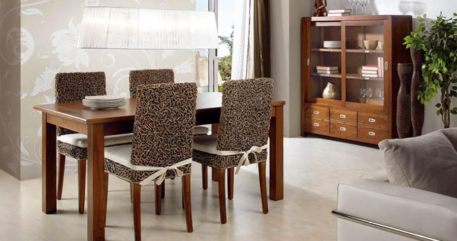 Comedor colonial rattan 196 muebles saskia en pamplona - Decoracion colonial moderno ...