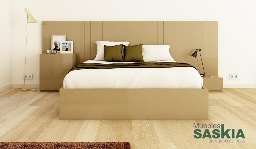 Ambientes de dormitorio moderno muebles saskia en pamplona for Muebles saskia