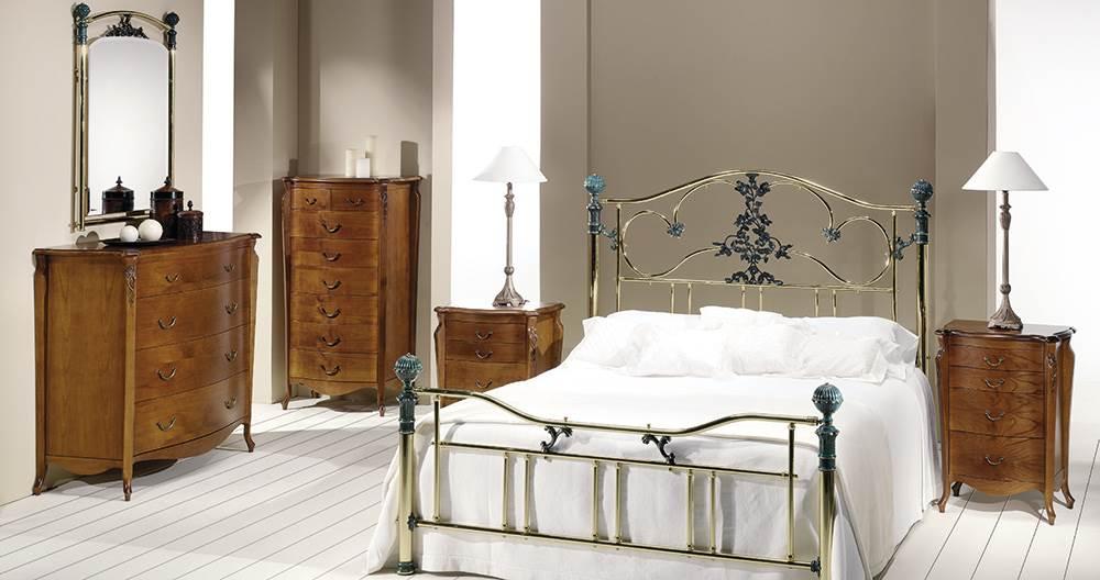 Dormitorio Roxana latón 45 | Muebles Saskia en Pamplona