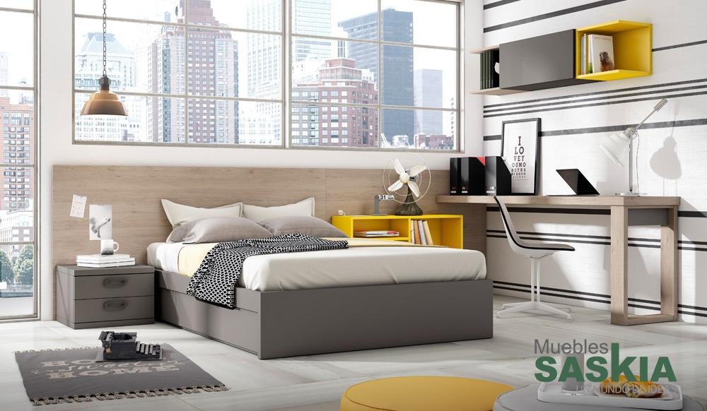Habitaci n juvenil muebles modernos muebles saskia en - Muebles en navarra ...