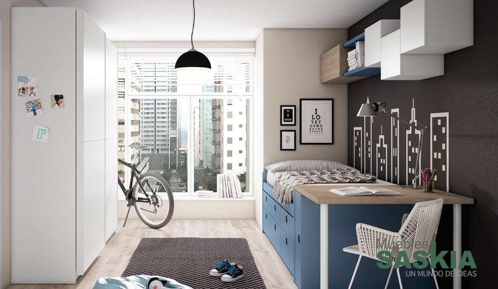 Muebles de habitaci n juvenil muebles saskia en pamplona - Muebles en pamplona ...
