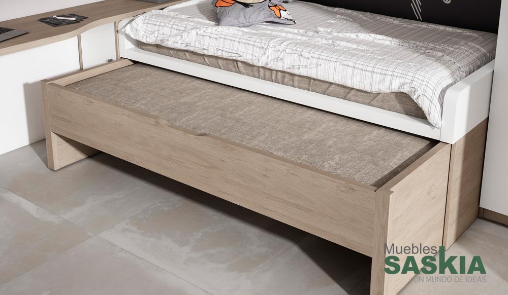 Composici n juvenil de dormitorio muebles saskia en pamplona for Composicion dormitorio juvenil