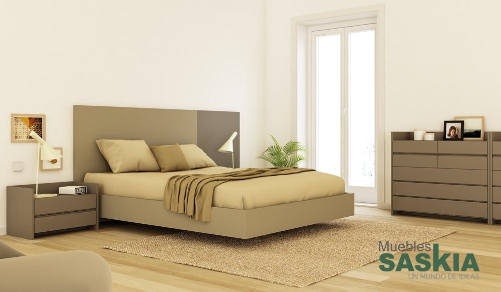Composición moderna para dormitorio