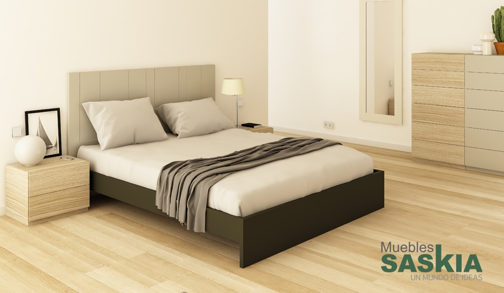 Composición muebles modernos de dormitorio