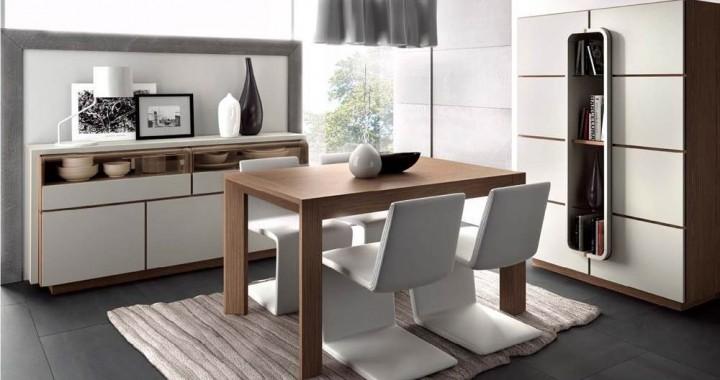 Comedor lecurv 16 moderno 71 muebles saskia en pamplona for Muebles comedor modernos