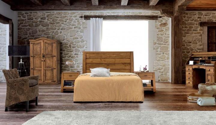 Dormitorio r stico 133 muebles saskia en pamplona - Cuadros para dormitorios rusticos ...