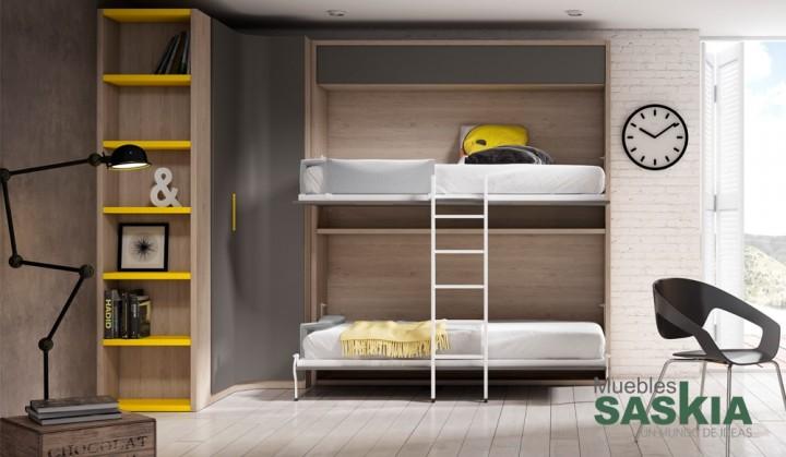 Dormitorio Juvenil Camas Abatibles Muebles Saskia En