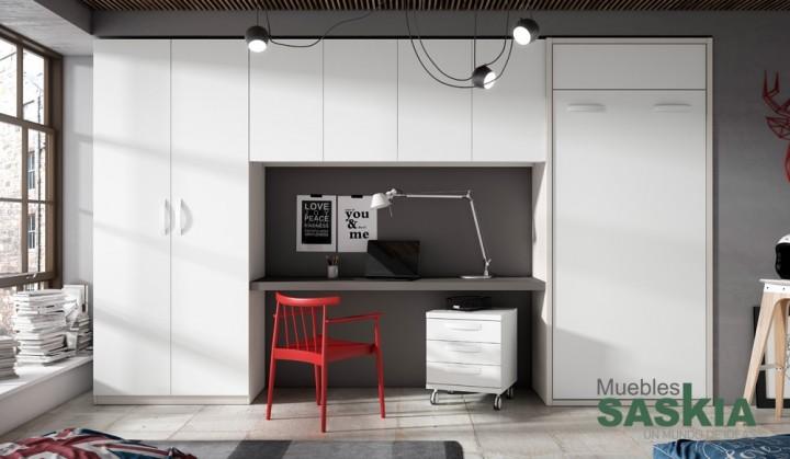 Habitación juvenil, moderna