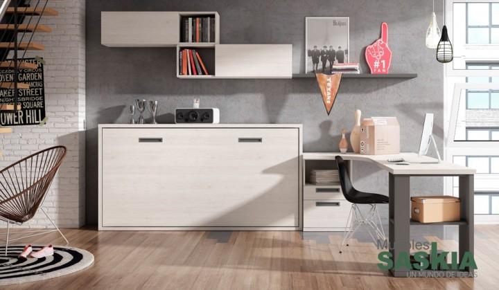 Diseño juvenil de habitación moderna