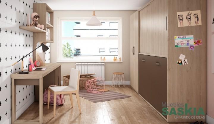 Muebles juveniles, diseño moderno