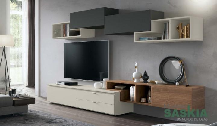 Muebles de salón actual, perfecto para tu hogar, Rosamor