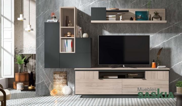 Composición de salón moderno, conjunto  5