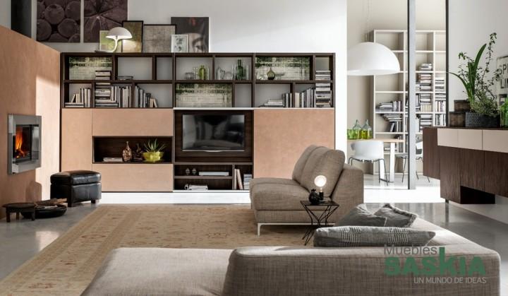Muebles de salón acogedor
