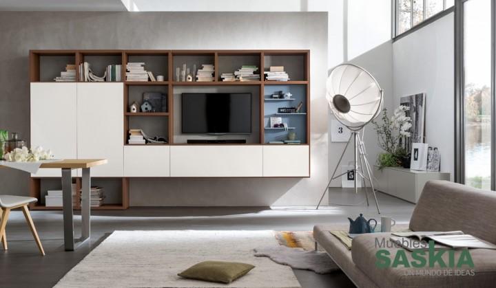 Composición de muebles de salón