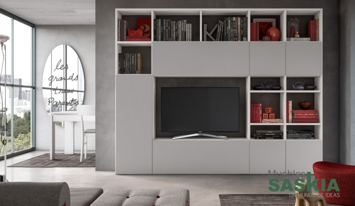 Organizados muebles de salón