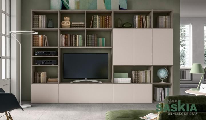 Muebles de salón beige