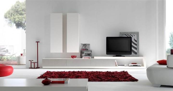 Sal n moderno mistral 014 muebles saskia en pamplona for Modulos para salon