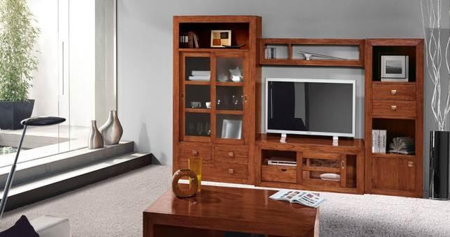Sal n decora teka 18 muebles saskia en pamplona - Color teka en muebles ...