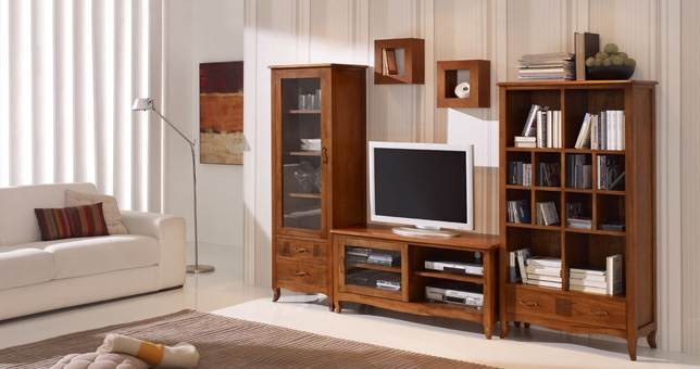 Sal n decora teka 49 muebles saskia en pamplona for Precio muebles salon