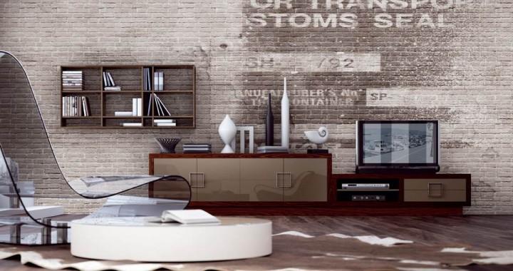 Sal n bauhaus 40 muebles saskia en pamplona for Bauhaus mueble zapatero