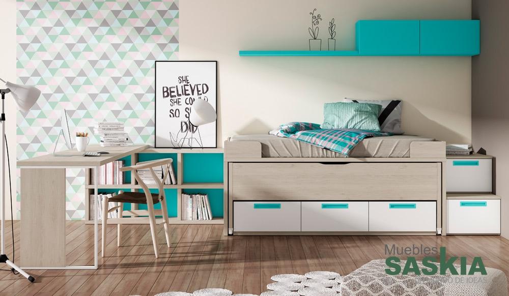 Hermosa habitaci n juvenil muebles saskia en pamplona - Muebles en pamplona ...