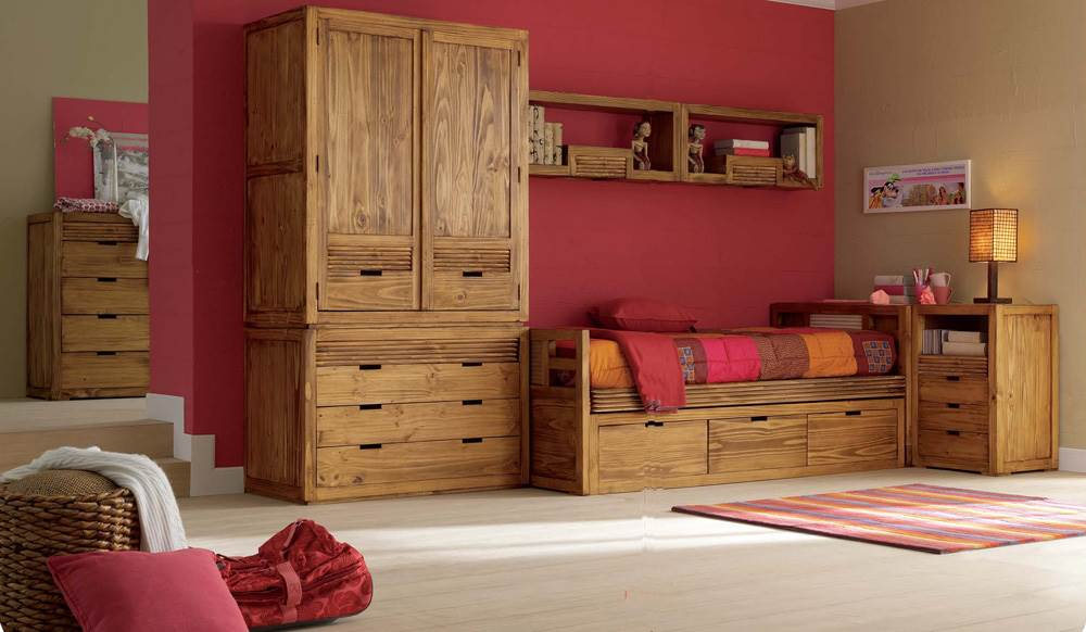 Juvenil r stico 154 muebles saskia en pamplona - Dormitorios juveniles pamplona ...