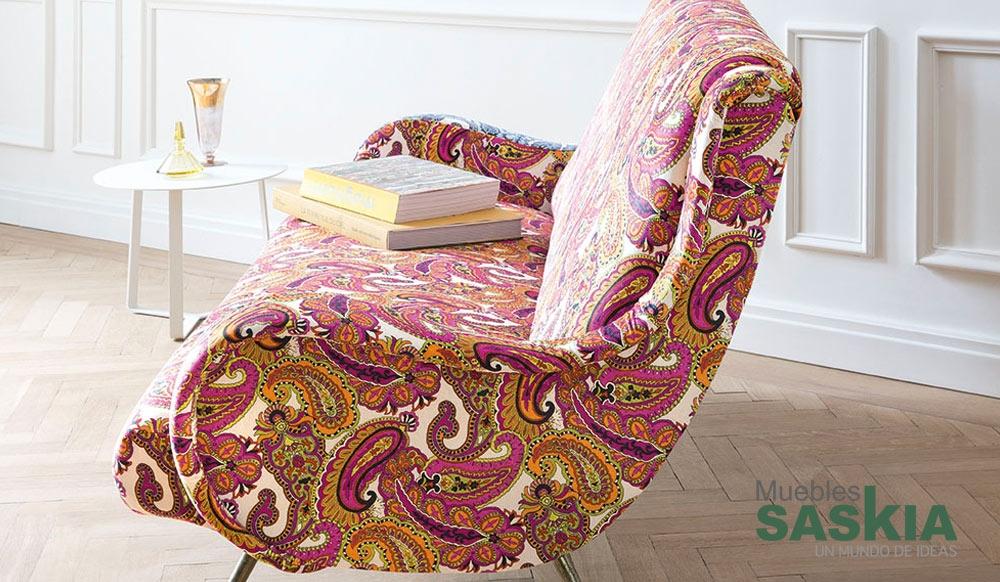 Tela de tapizado moderno