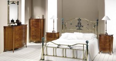 Dormitorio Roxana latón 45