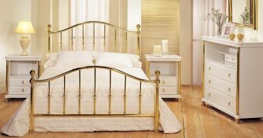 Dormitorio Vittoria latón 43