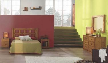 Dormitorio rústico 129