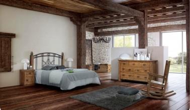 Dormitorio rústico 137