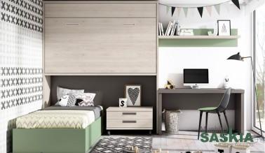 Dormitorio juvenil de tendencias